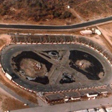 Islip Speedway Aerial Photo