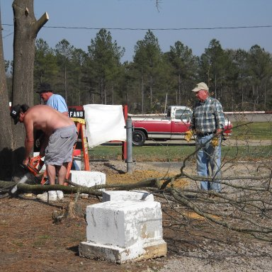2010 Columbia Speedway Cleanup