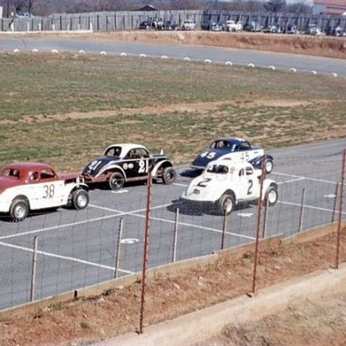 Emailing: Squeaky Snead Photo of Shrader Field - 1956 Lynchburg,Va. Speedway