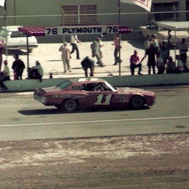 Jack Ingram, Daytona 1976