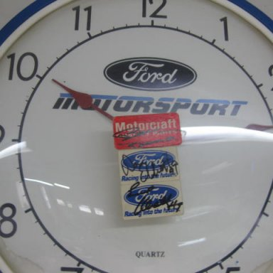 Ford Clock