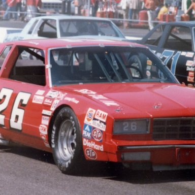 Butch Lindley 26 MonteCarlo Flat Nose Martinsville 1981