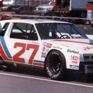Cale Yarborough 27 Valvoline Buick Martinsville1981