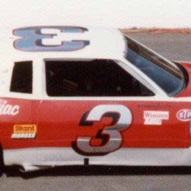 Richard Childress 3 Nichols Pontiac Martinsville 1981