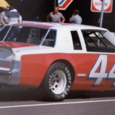 Terry Labonte 44 Buick Martinsville 1981