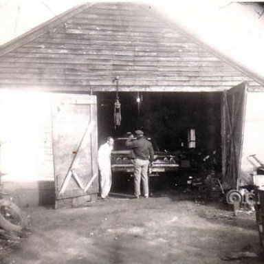 Wendell Scott in his shop circa. 1967