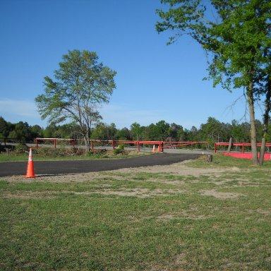 Inner Track Wall
