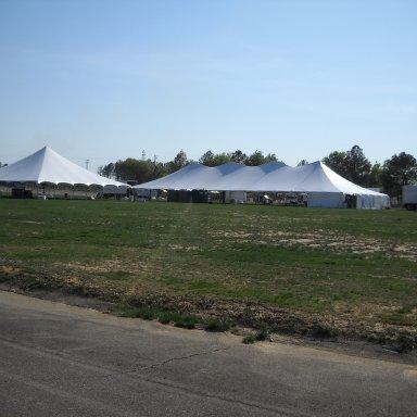 Tent Setup for 2010 RacersReunion Event