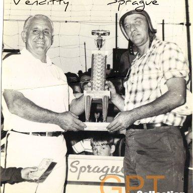 Venditti and Bobby Sprague