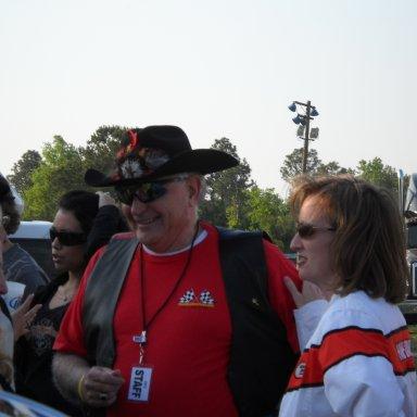 Tim Leeming and Mayor Elise Partin