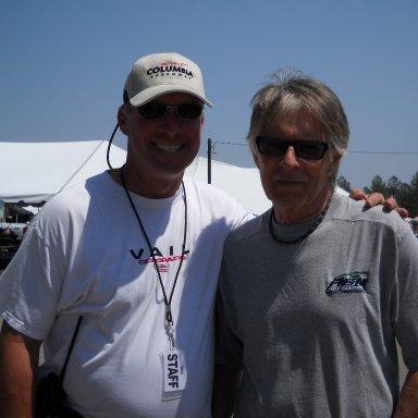 John Banks and Bud Moore