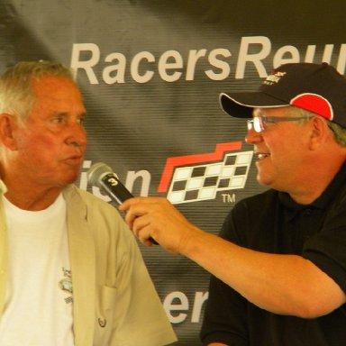 David Pearson and Jeff Gilder