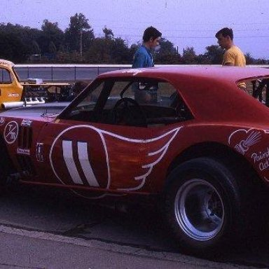 Ray Hendrick and Stan Ploski at Langhorne 1970