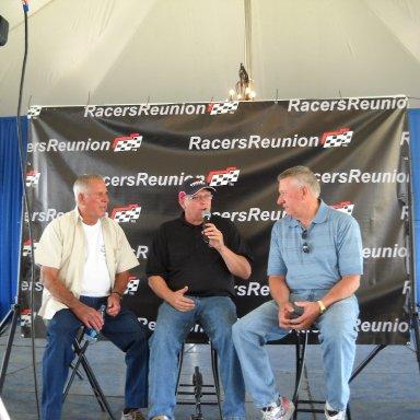 David Pearson, Jeff Gilder, and Wadell Wilson