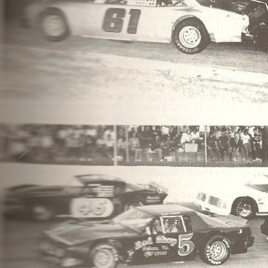 Late Model Stock @ Franklin Co Speedway 1985