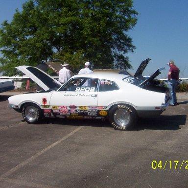 Raymond Roland's drag racer