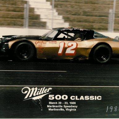 '86 Bobby Griffin LMSC # 12