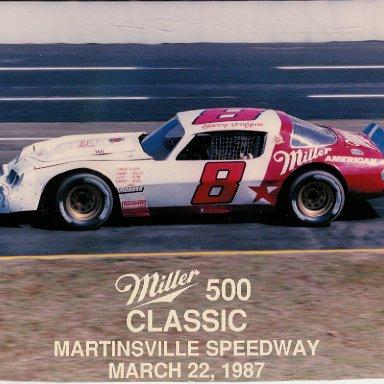 '87 Bobby Griffin LMSC # 8