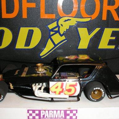#45 Masons Speed Shop slotcar built by Scotty W.
