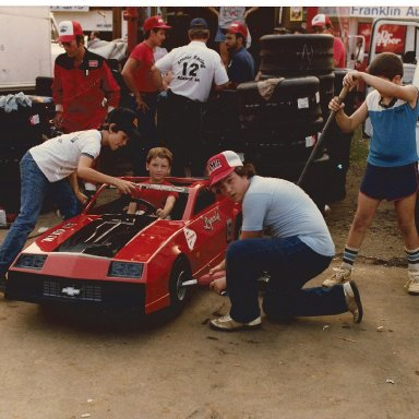 The kids in the pits @ FCS 1985