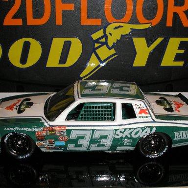 #33 Harry Gant model built by Scotty W