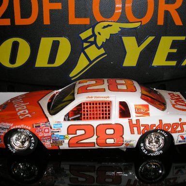 #28 Hardee's Ford built by Scotty W