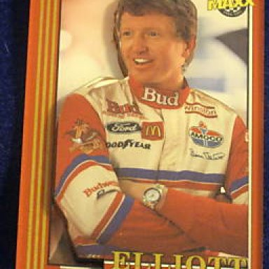 1992 Maxx 3D Bill Elliott card