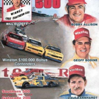 1985southern 500 advertisement