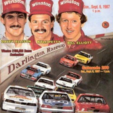 1987southern 500 advertisement
