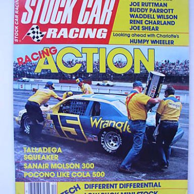 #15 Dale Earnhardt  on stock car mag