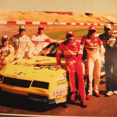 Dale Sr, Neil, Tim, Geoff. Darrell, Harry