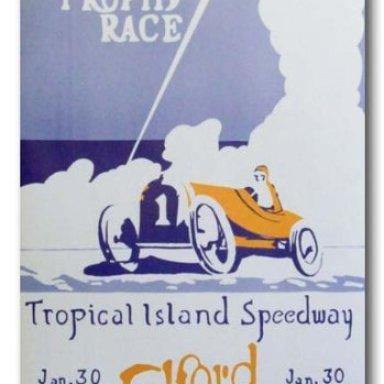 fla race poster  1926