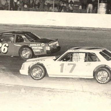 #26 Tim McGuire & #17 Tink Reedy @ FCS 1985