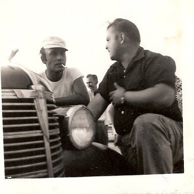Perk Brown and Jimmy Lewallen 1952