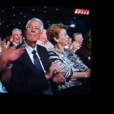 Emailing: Bernece & Glen Wood at the Hall of Fame--TV