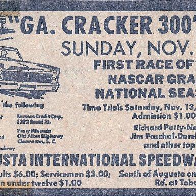 Vintage ad Augusta 1965