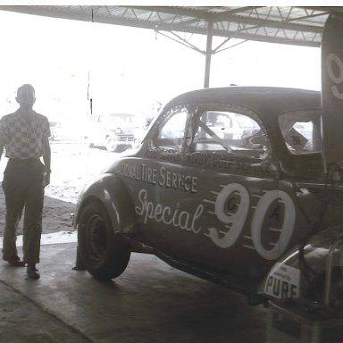 Lavrene Kendrick at Daytona 1959