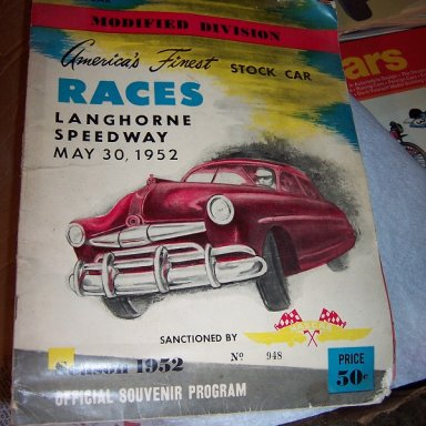 1952 Langhorne Grand National Program