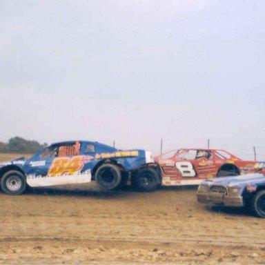 Thunder Mountain Speedway 2004 - Drafting!