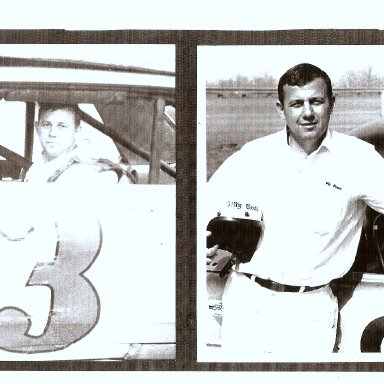 BILLY SCOTT AT COLUMBIA SPEEDWAY 1960'S