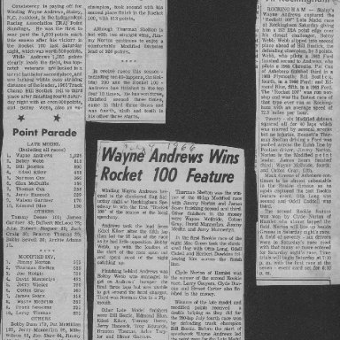 News clippings 1966