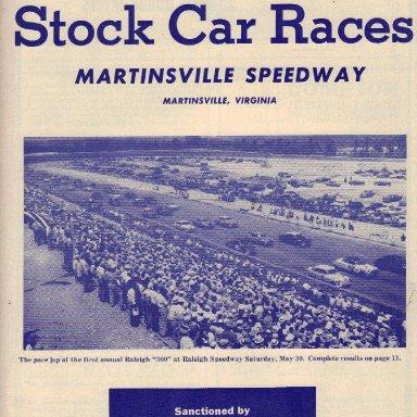 Martinsville Speedway 1953