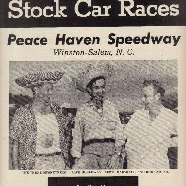 Peace Haven Speedway 1952