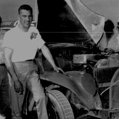 Bill Myers at Daytona with Bob Fish special