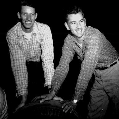 Glenn Wood and Bill Myers