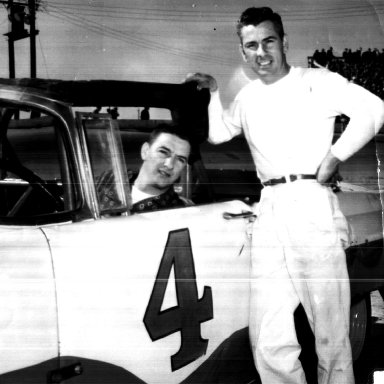 Myers Brothers - Bobby (in car) and Bill