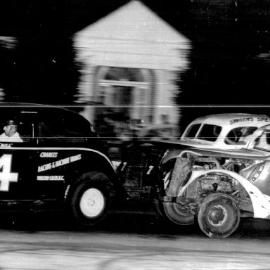 Myers Brothers in action at Bowman Gray