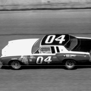 Gary Myers at Daytona 1976