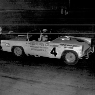 Bill Myers International Sedan Race Bowman Gray Stadium 1956