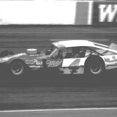 Gary Myers at North Wilkesboro - 1985